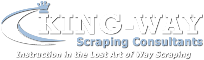Logo, KING-WAY Scraping Consultants - Machine Scraping